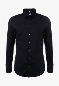 Seidensticker - BUSINESS KENT PATCH SLIM FIT - Zakelijk overhemd - black - 4