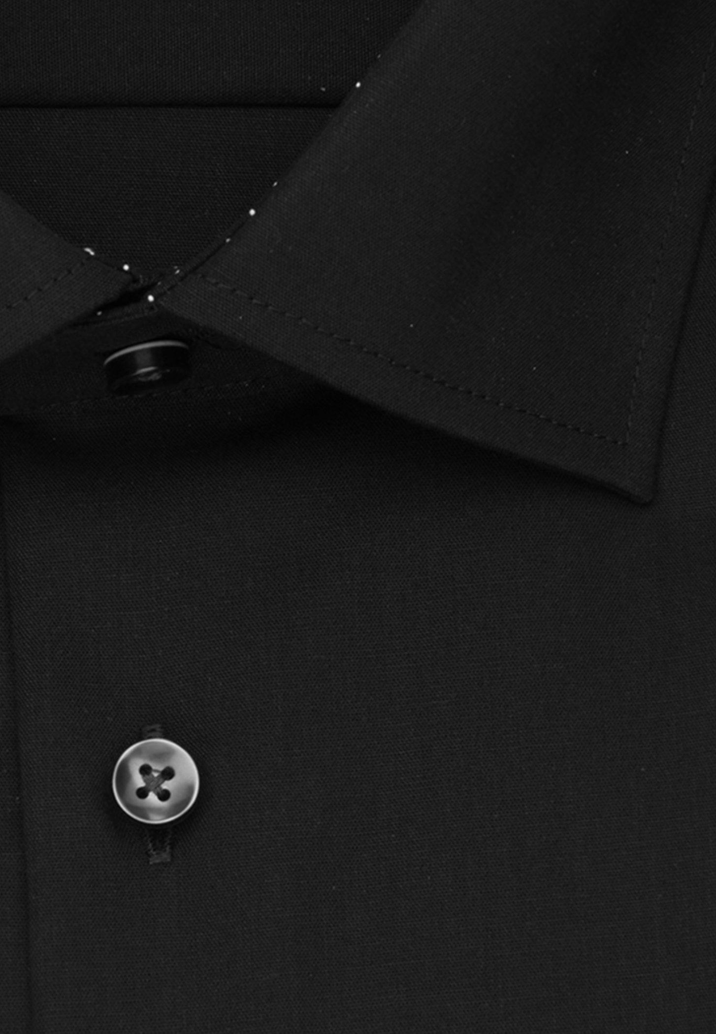Seidensticker REGULAR FIT - Koszula biznesowa - black