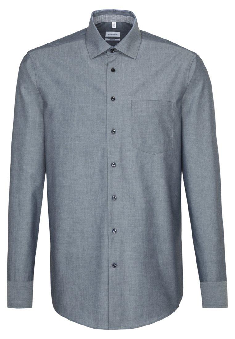 Seidensticker REGULAR FIT - Koszula - dark blue