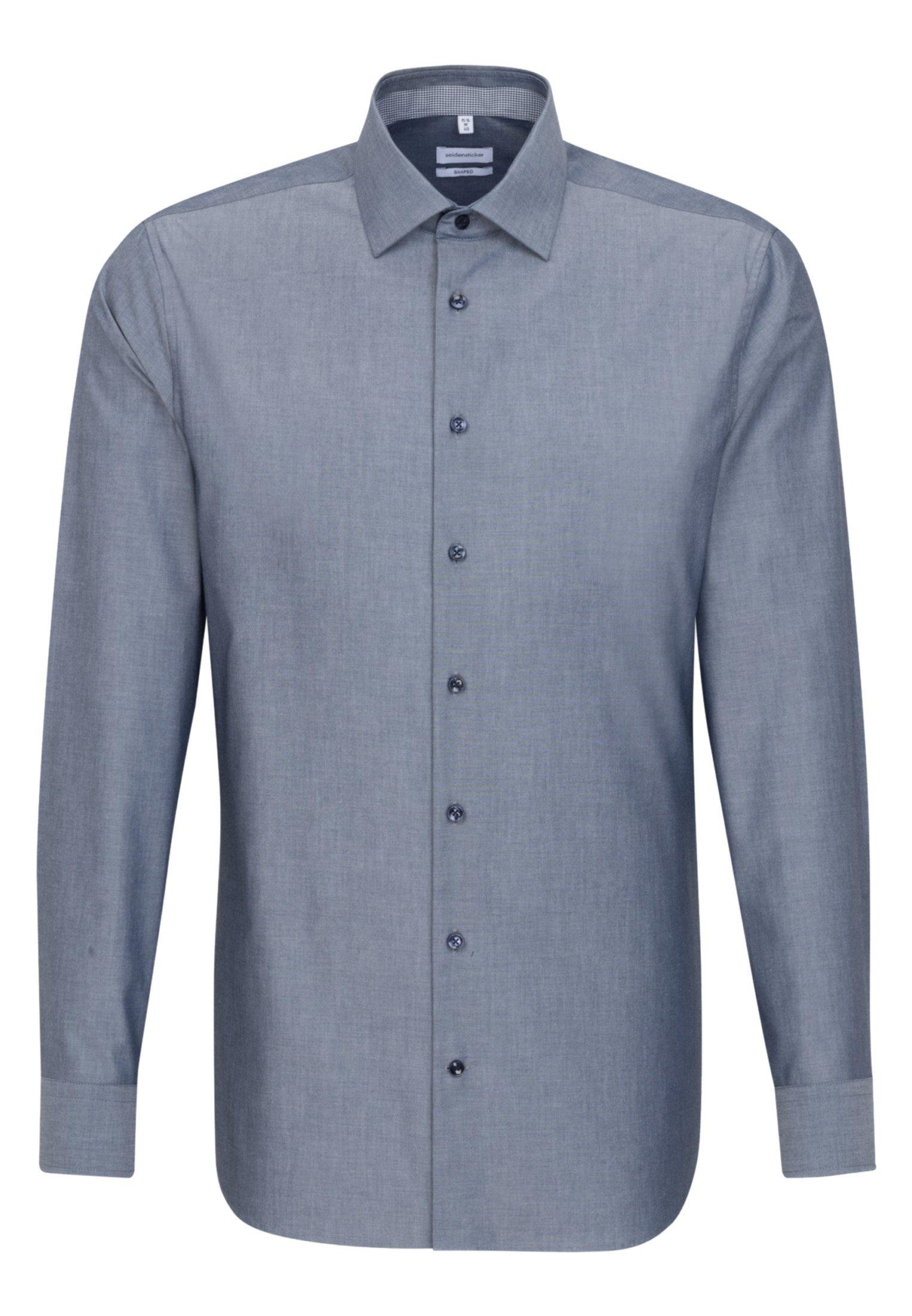 Seidensticker TAILORED - Koszula - blue