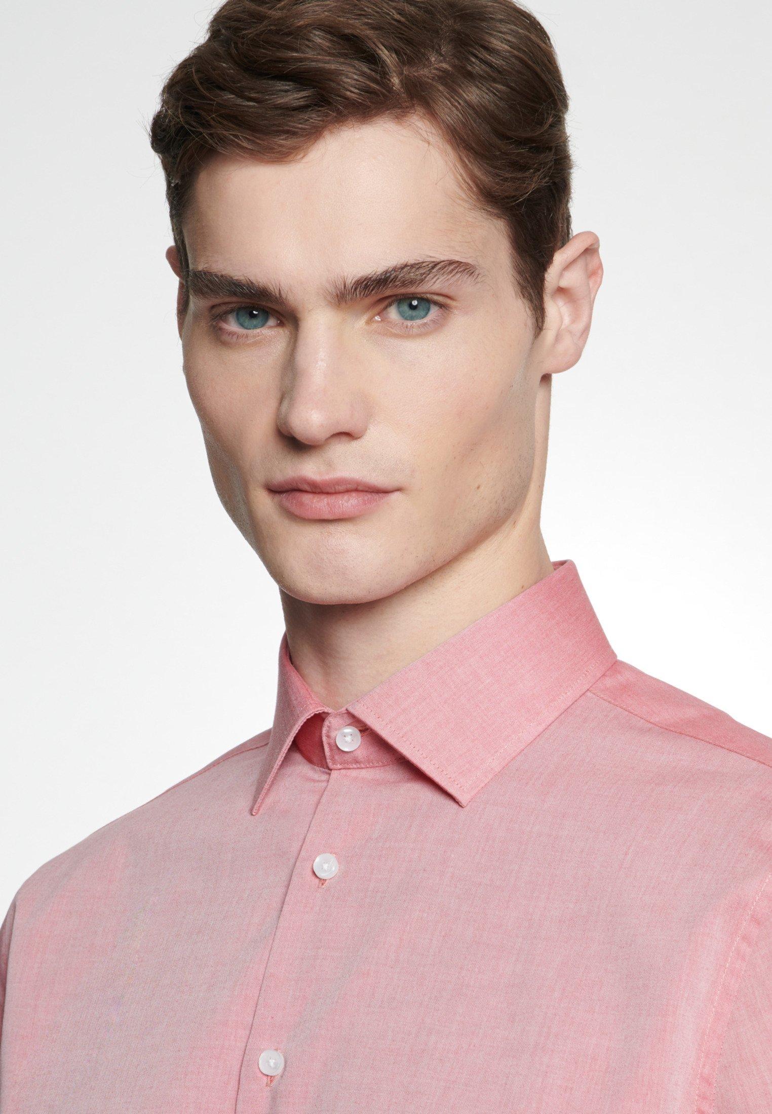 Seidensticker SLIM FIT - Koszula - red