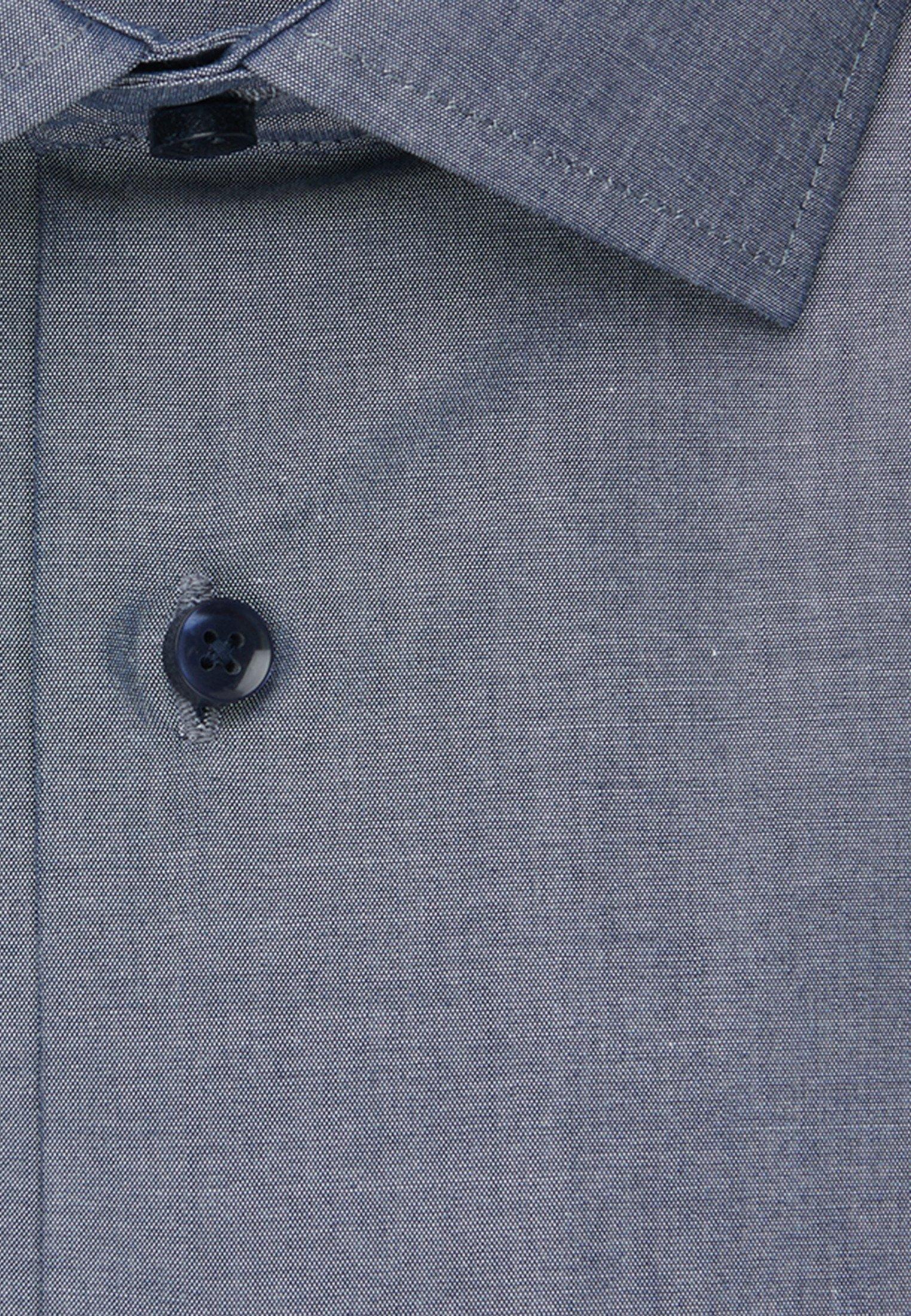 Seidensticker SLIM FIT - Koszula - blue
