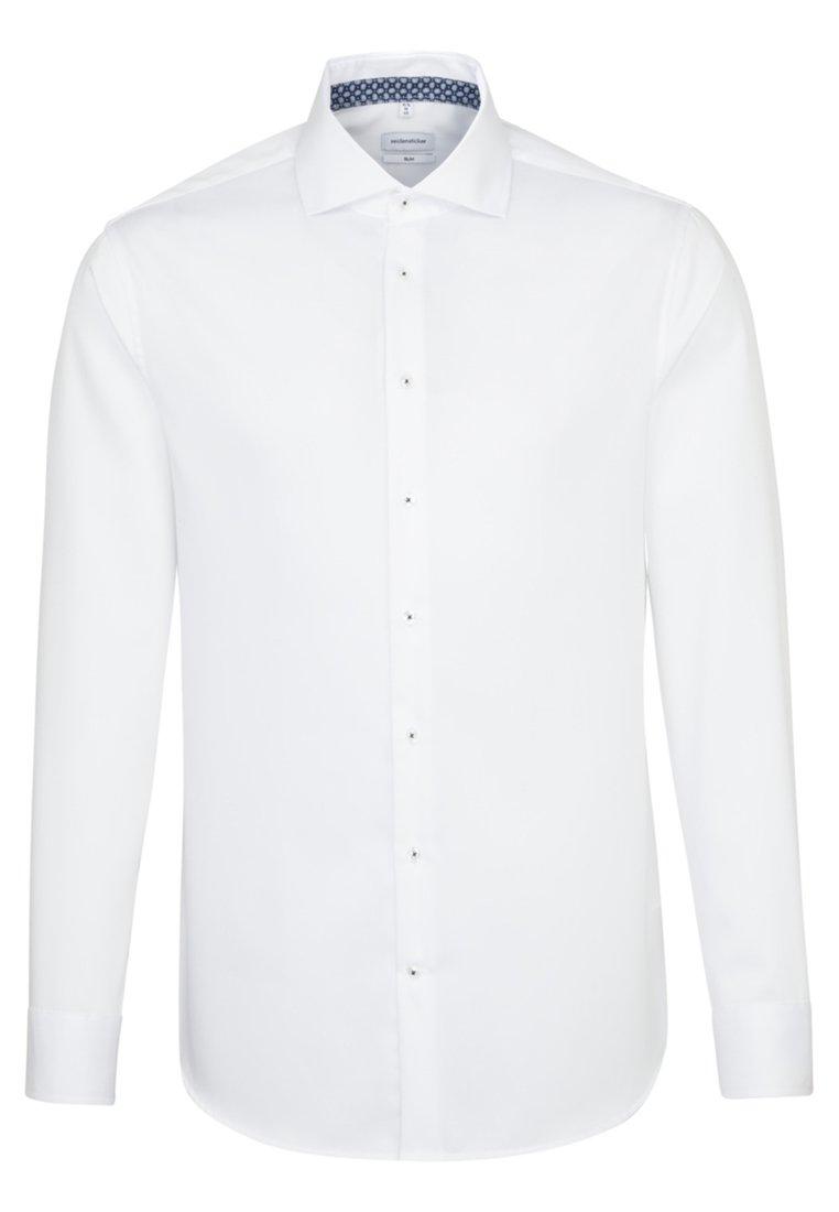 Seidensticker SLIM - Koszula biznesowa - white