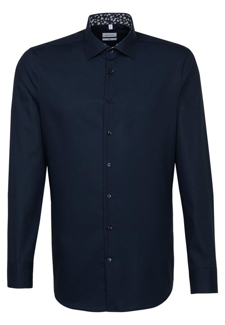 Seidensticker SLIM FIT - Koszula biznesowa - blue