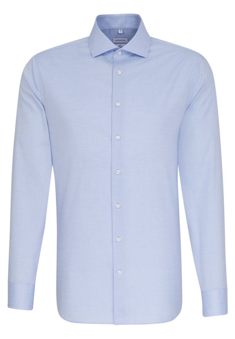 Seidensticker SLIM FIT - Koszula biznesowa - light blue