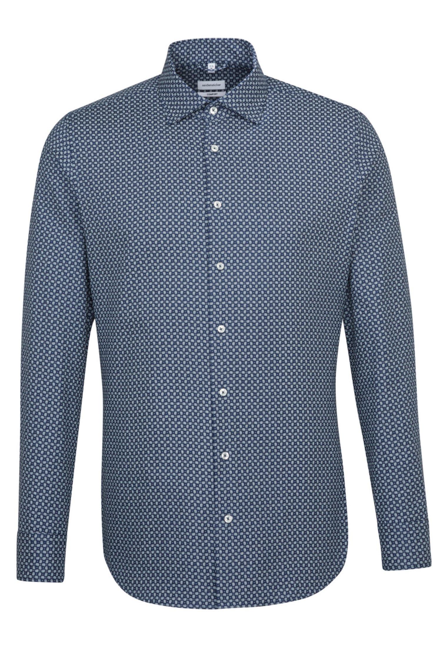 Seidensticker COMFORT - Koszula - blue
