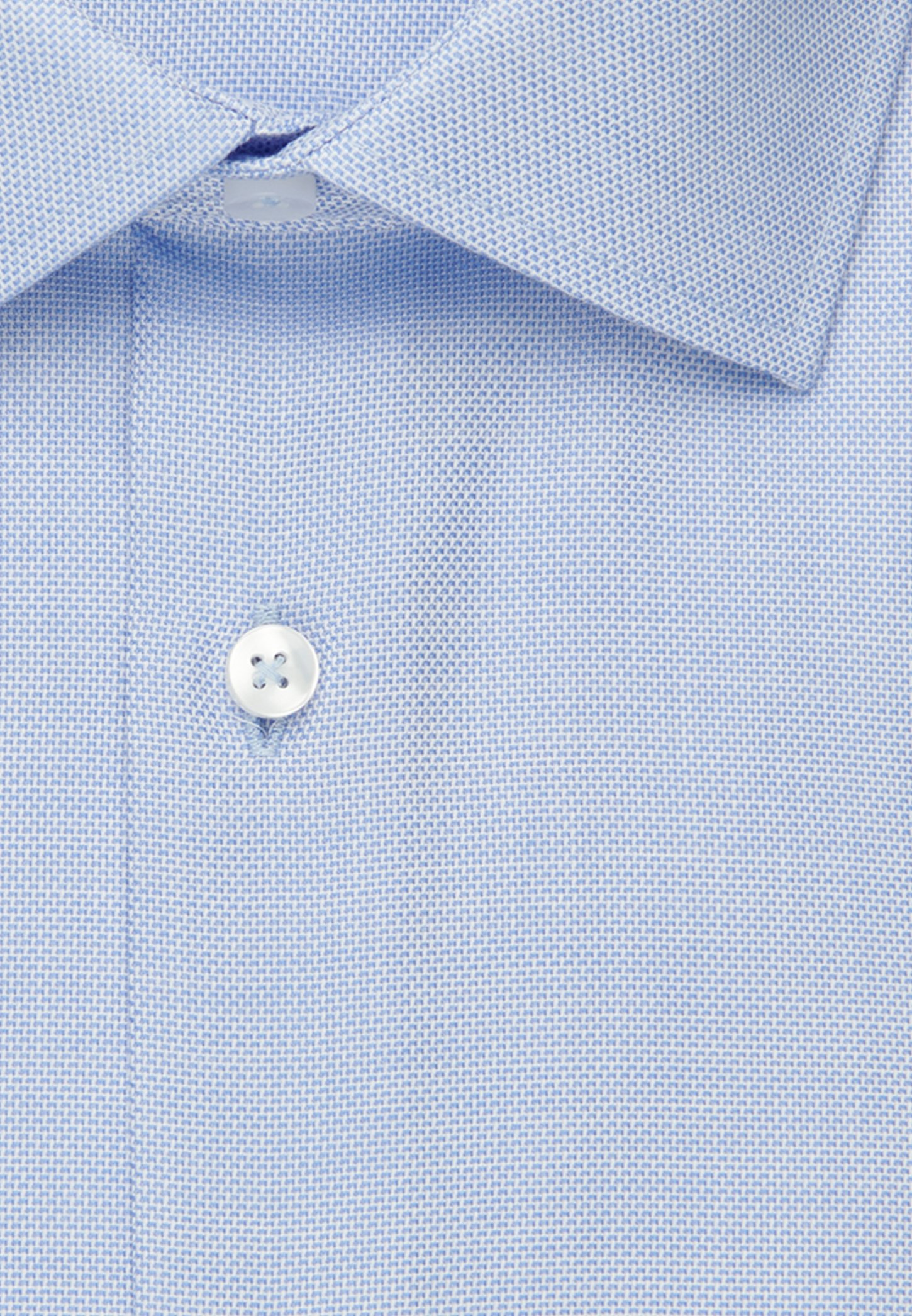 Seidensticker SLIM FIT - Formal shirt - light blue