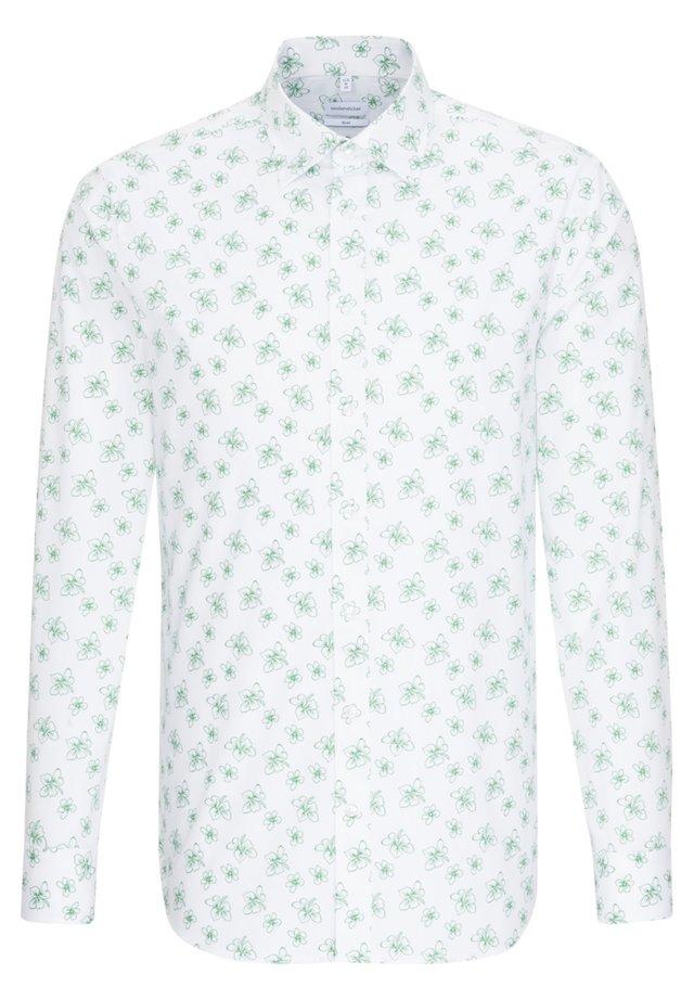 SLIM FIT - Koszula - grün