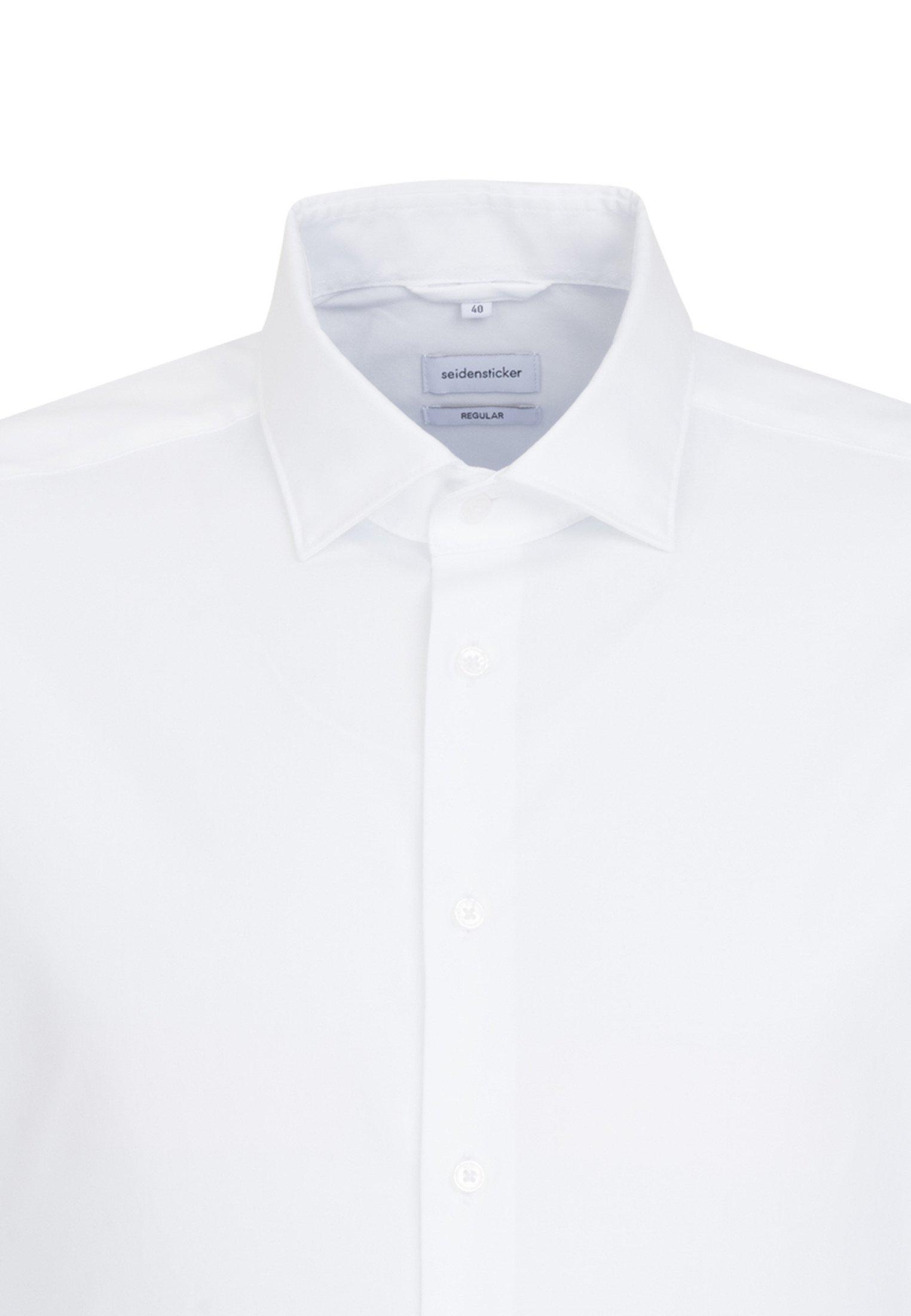 Seidensticker REGULAR FIT - Koszula biznesowa - white