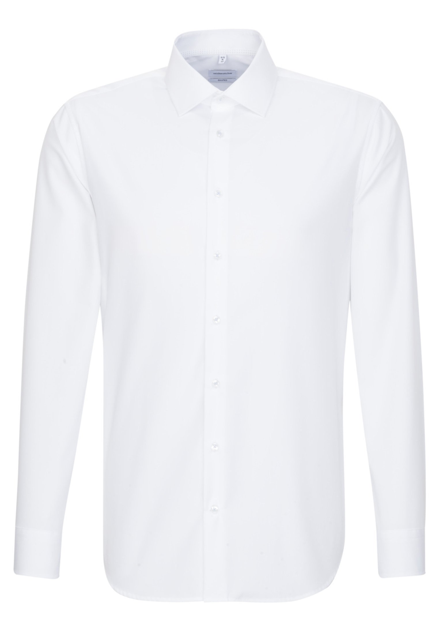 Seidensticker SLIM FIT - Koszula biznesowa - white