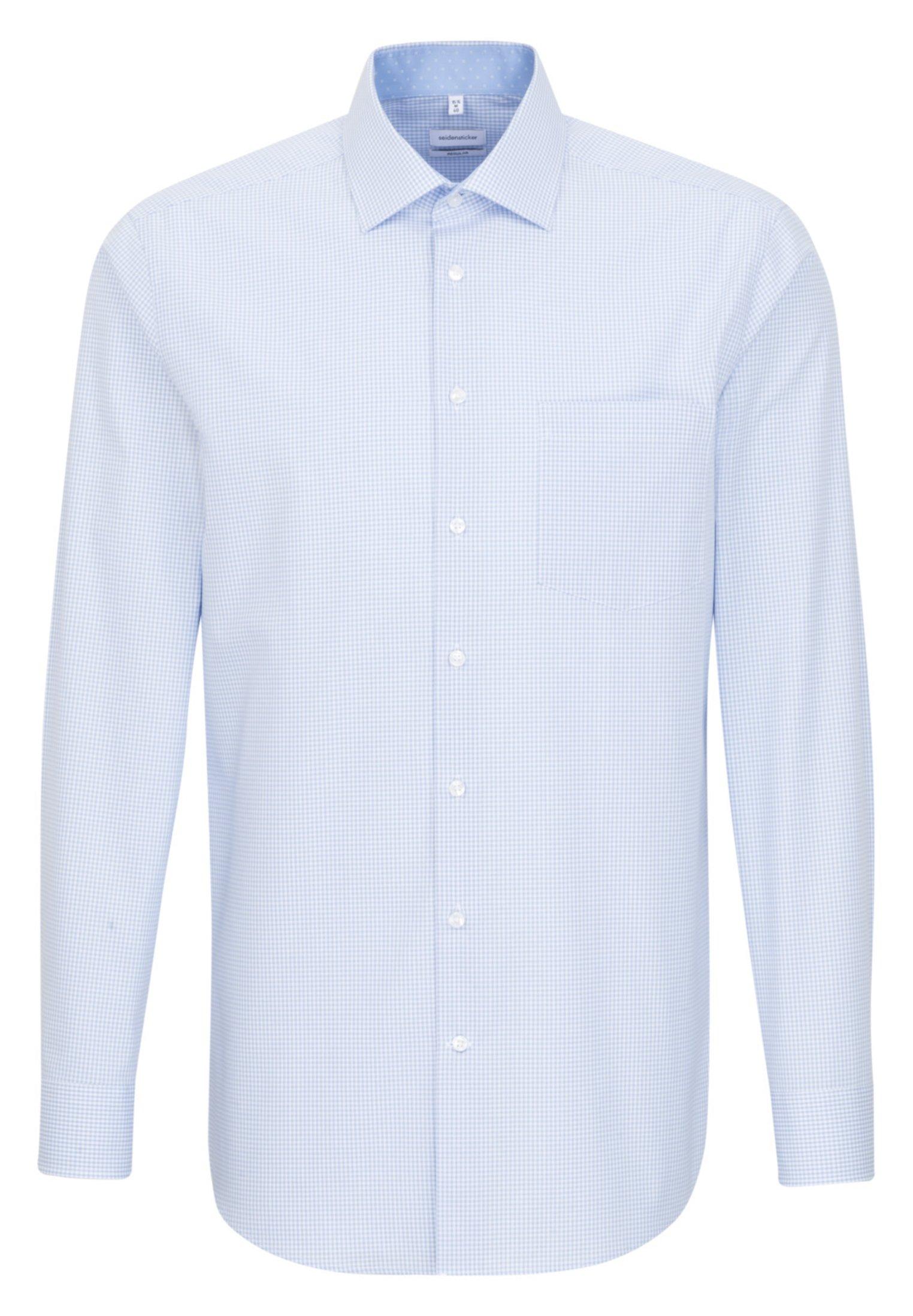 Seidensticker REGULAR FIT - Koszula - light blue