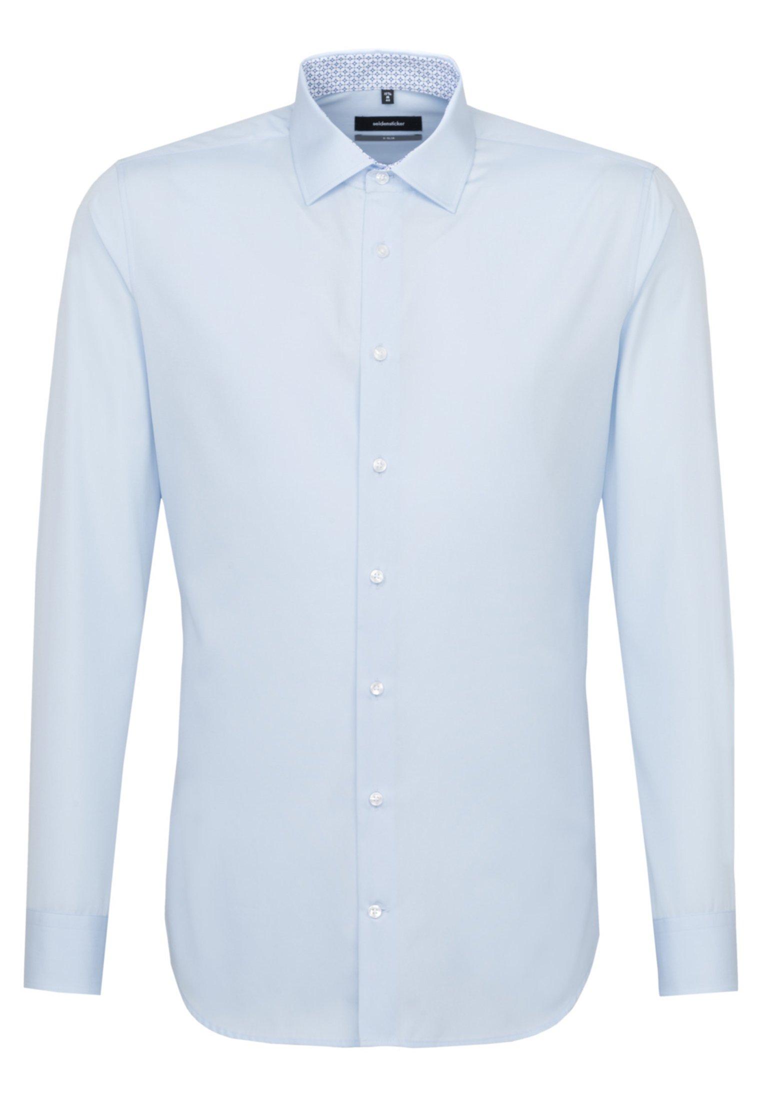 Seidensticker EXTRA SLIM FIT - Koszula biznesowa - light blue