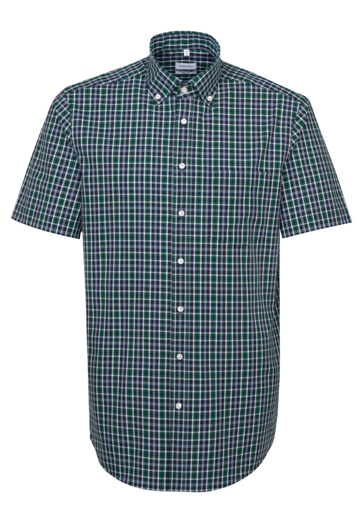 Seidensticker REGULAR FIT - Koszula - green