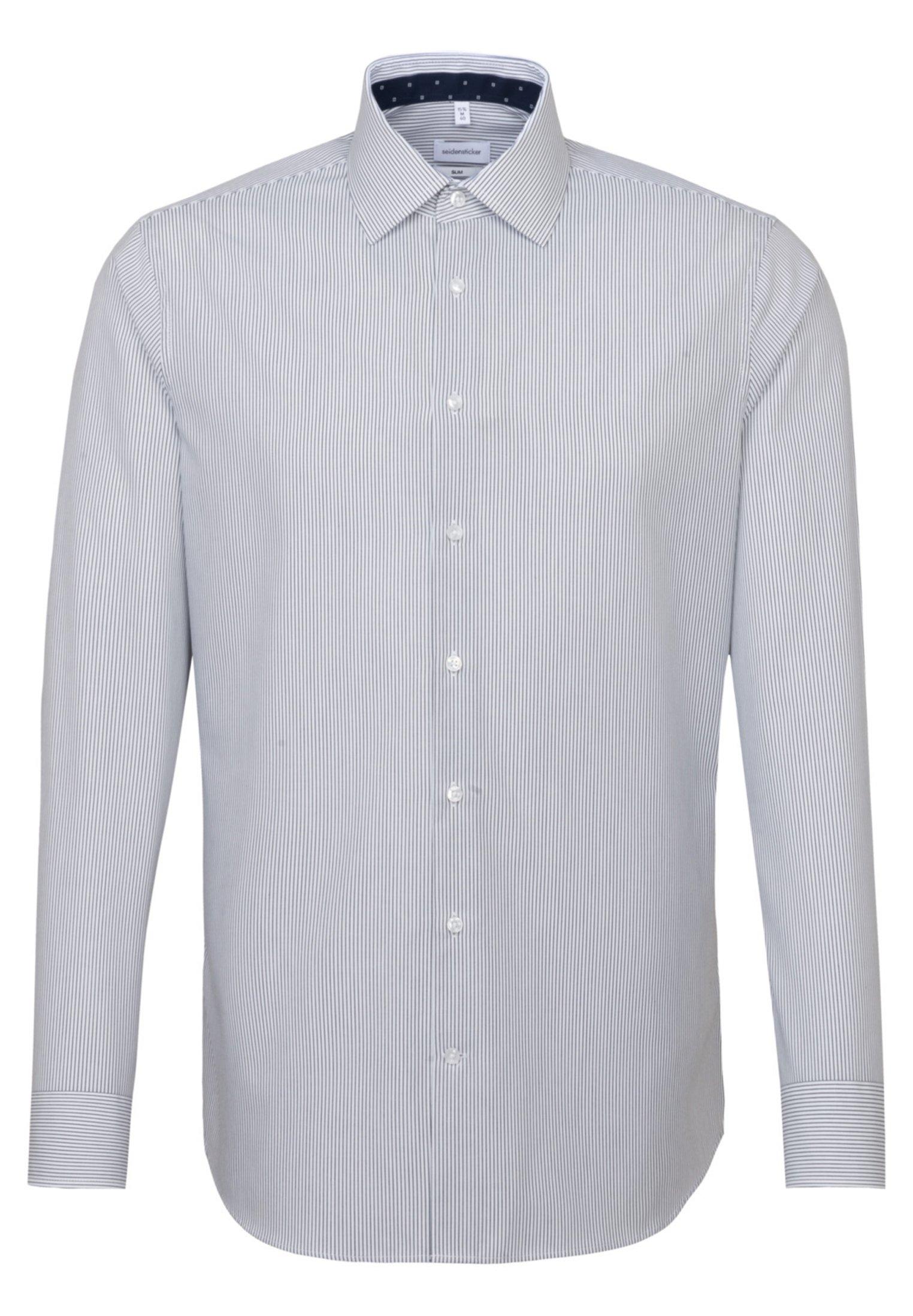 Seidensticker SLIM FIT - Koszula - blau