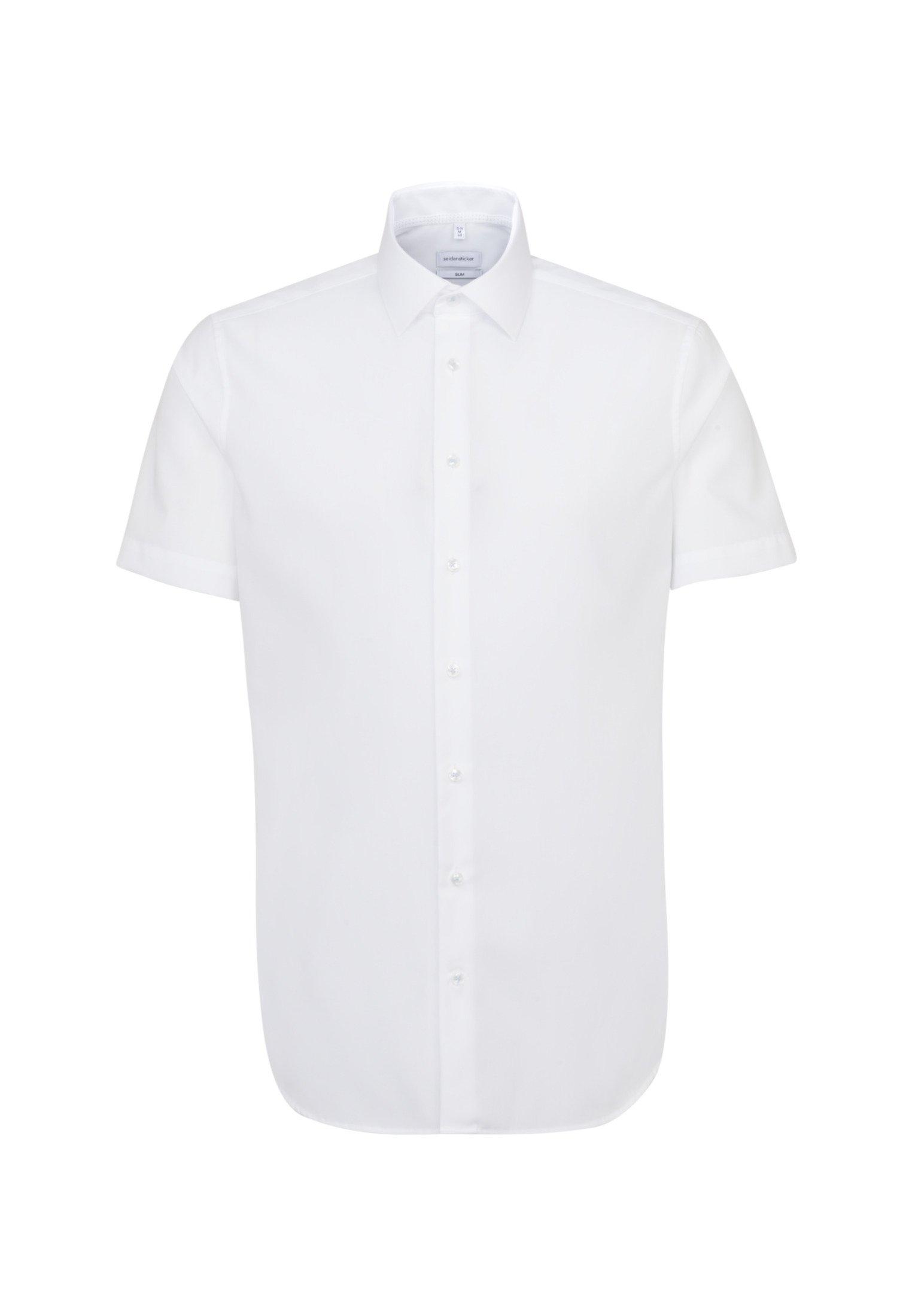 Seidensticker SLIM - Koszula biznesowa - weiss