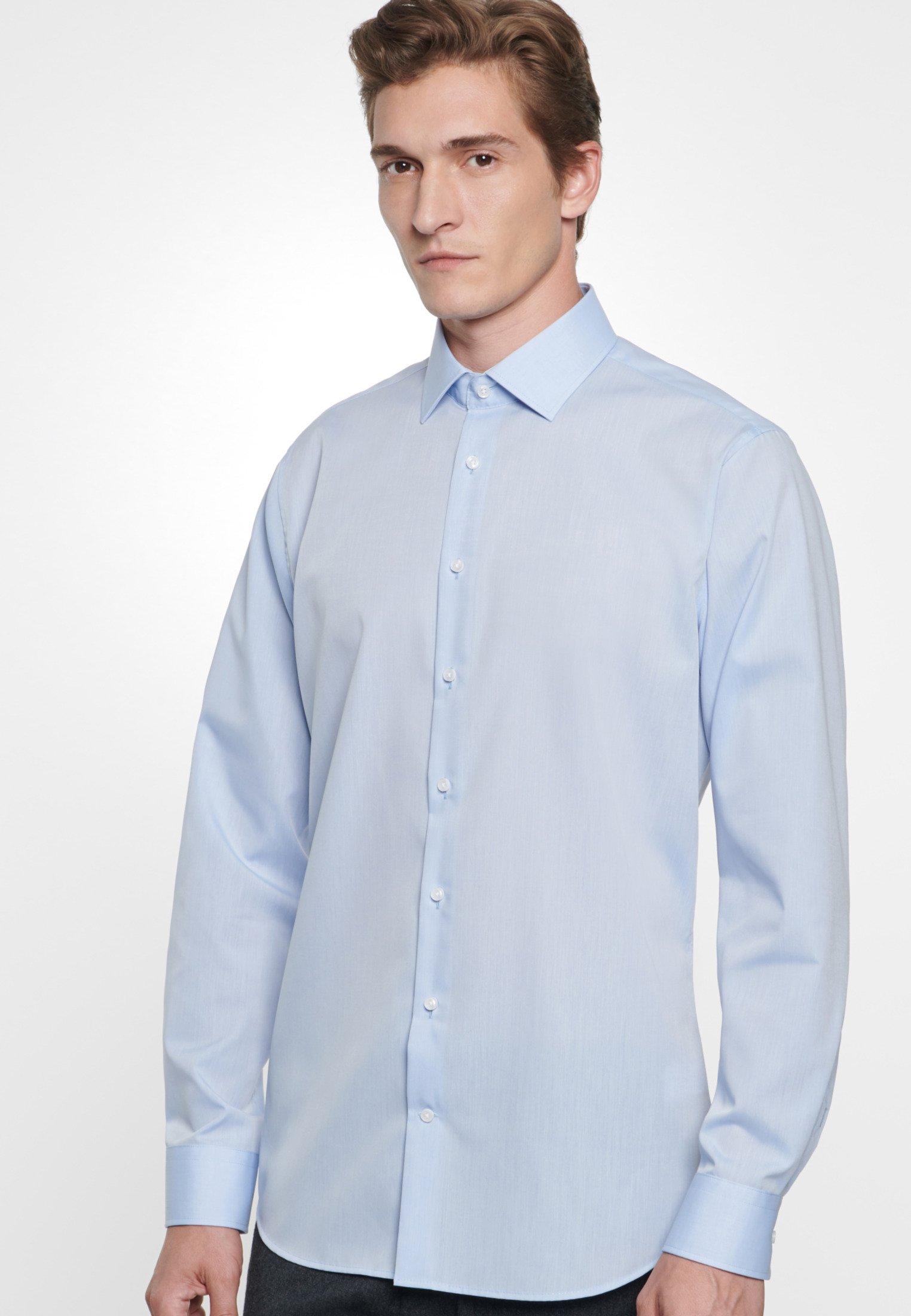 Seidensticker Shaped Fit - Overhemd Blau XrUnyfS