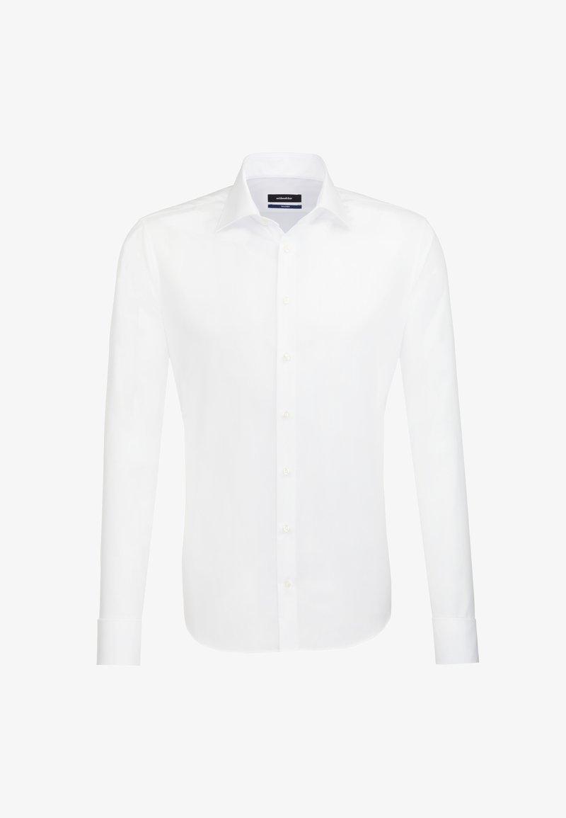 Seidensticker - TAILORED FIT - Zakelijk overhemd - white