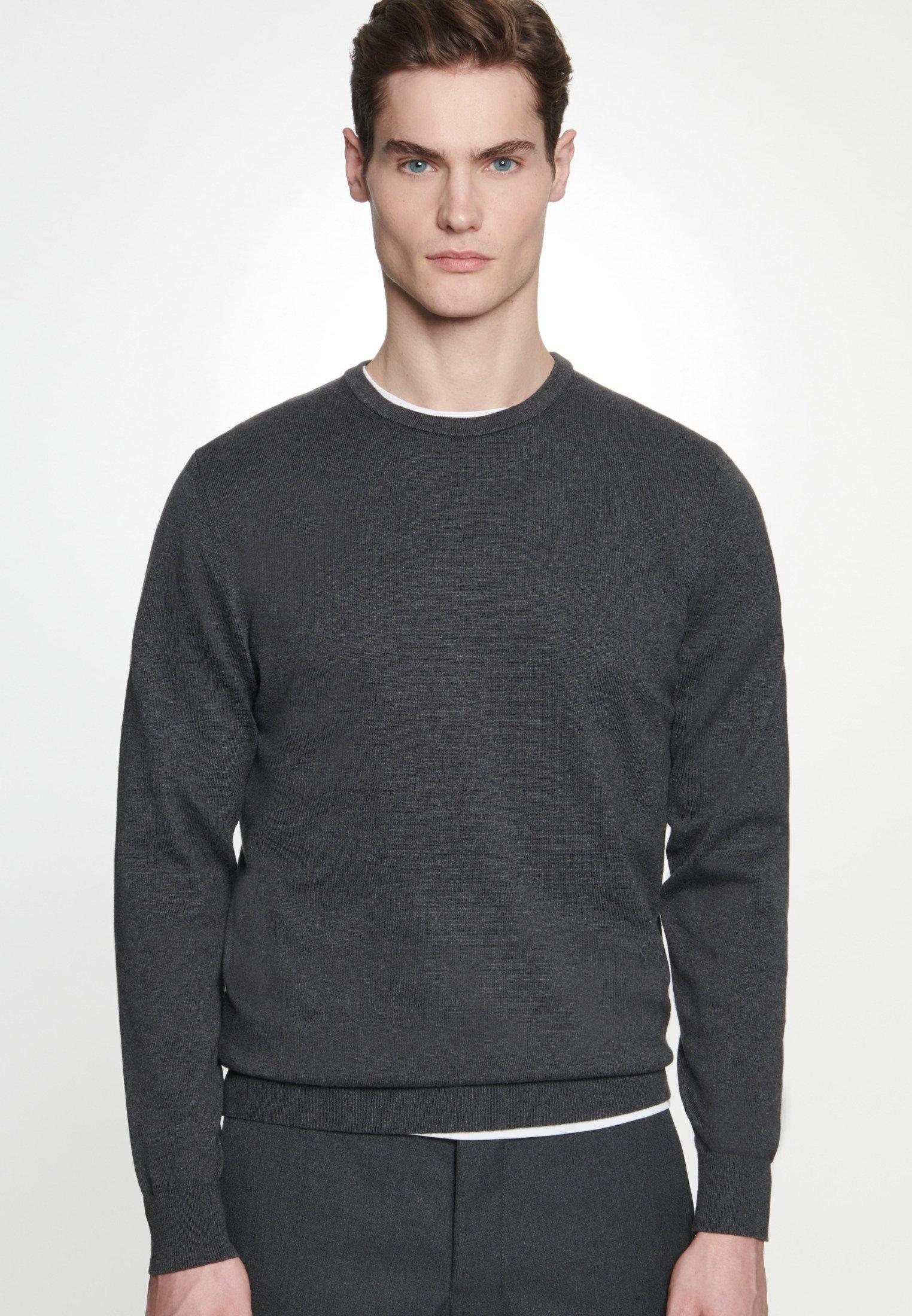 Seidensticker SCHWARZE ROSE - Sweter - grey