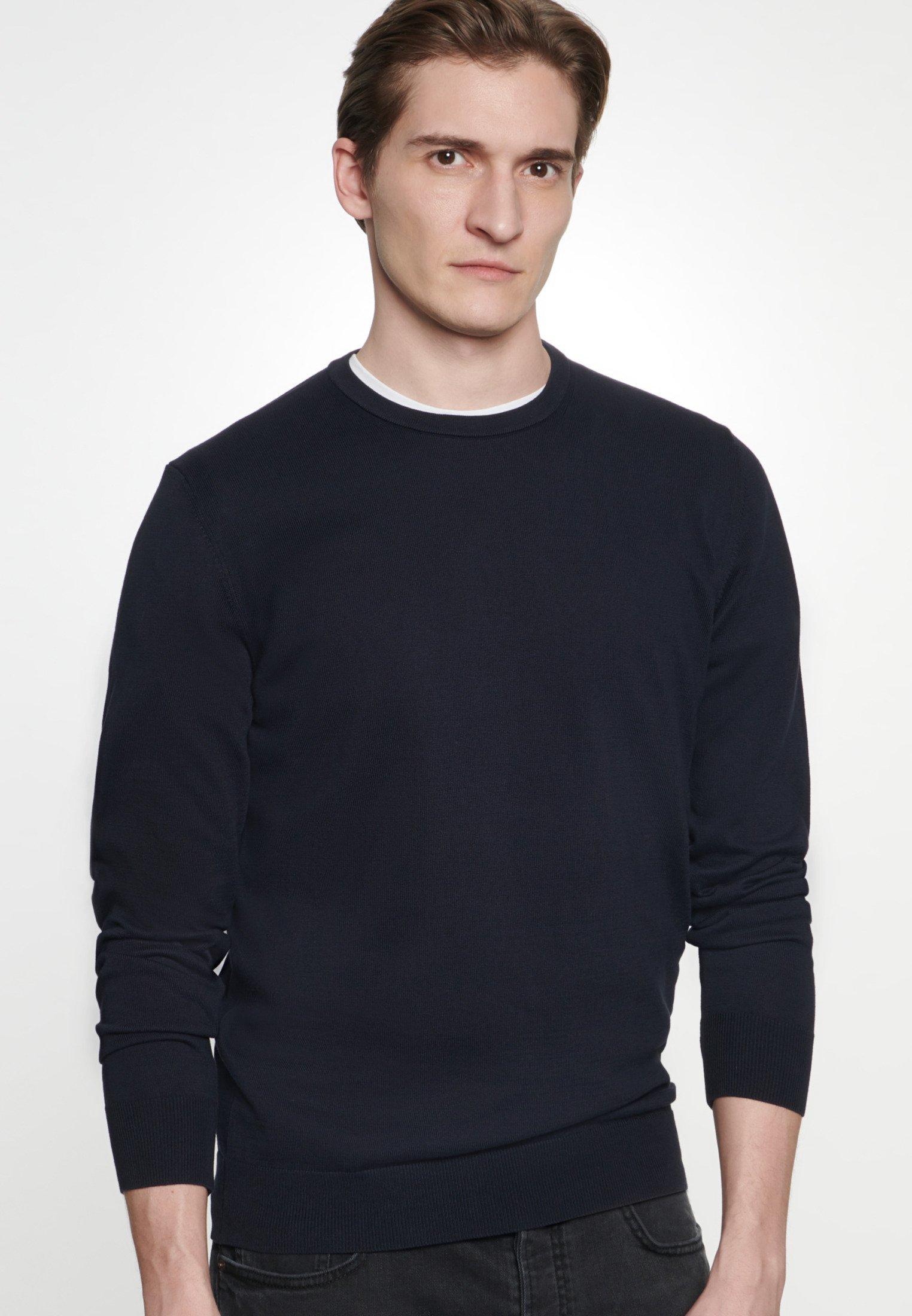 Seidensticker SCHWARZE ROSE - Sweter - dark blue