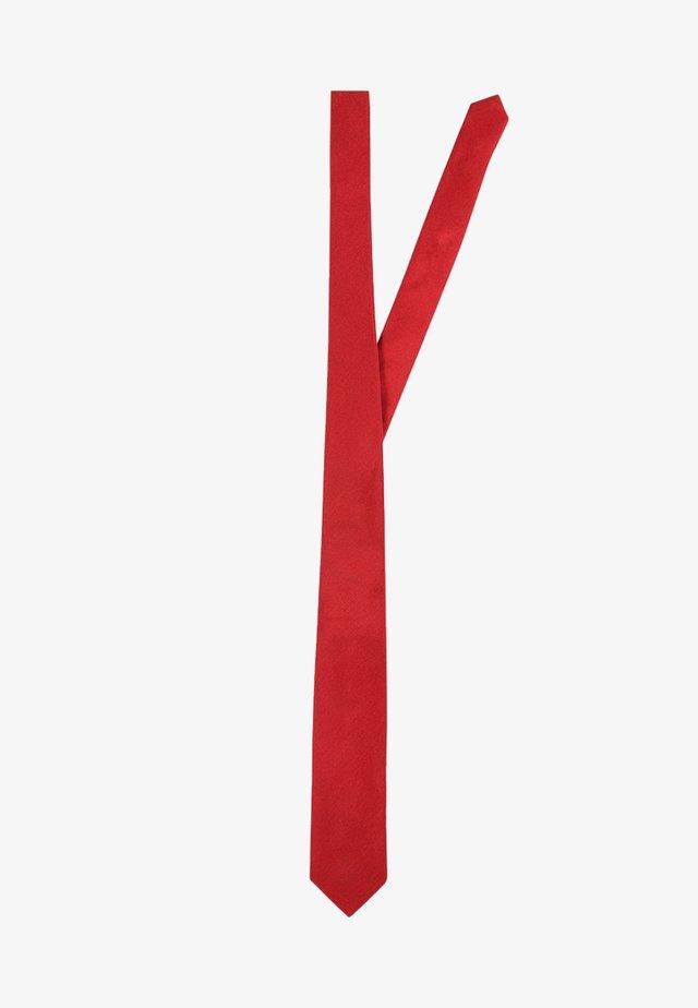 Cravate - red