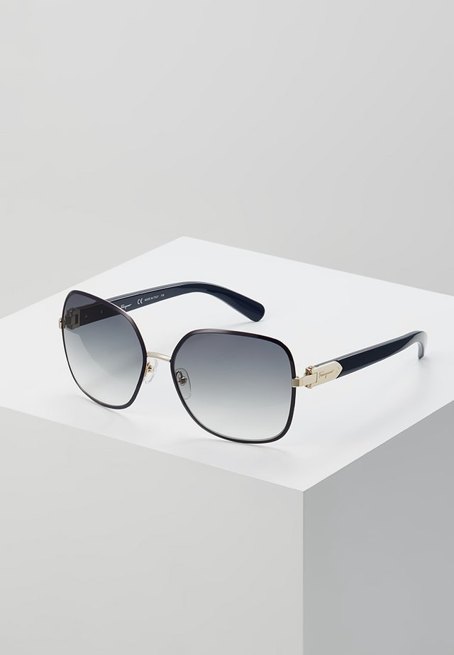 Sonnenbrille - light gold-coloured/blue