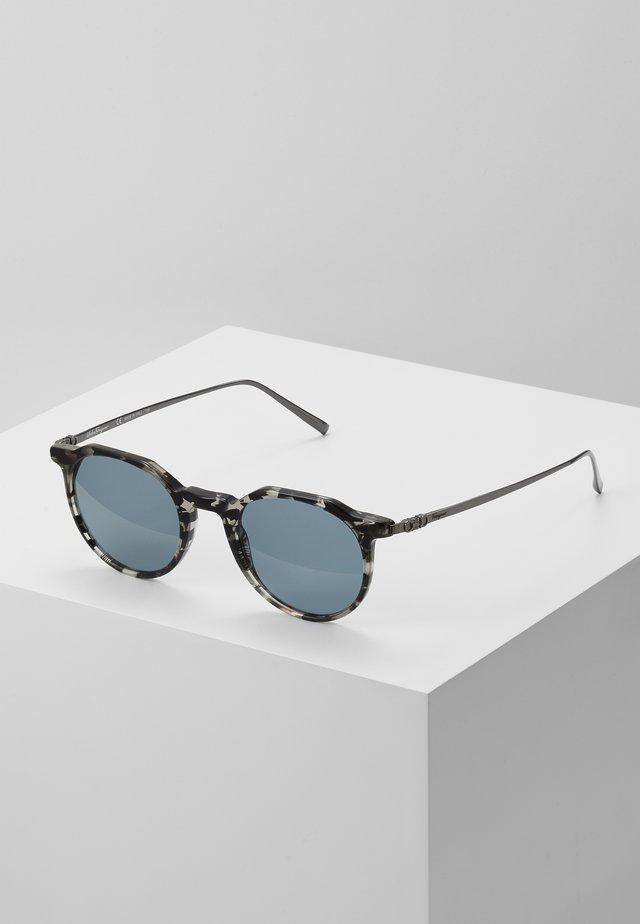 Sonnenbrille - grey havana