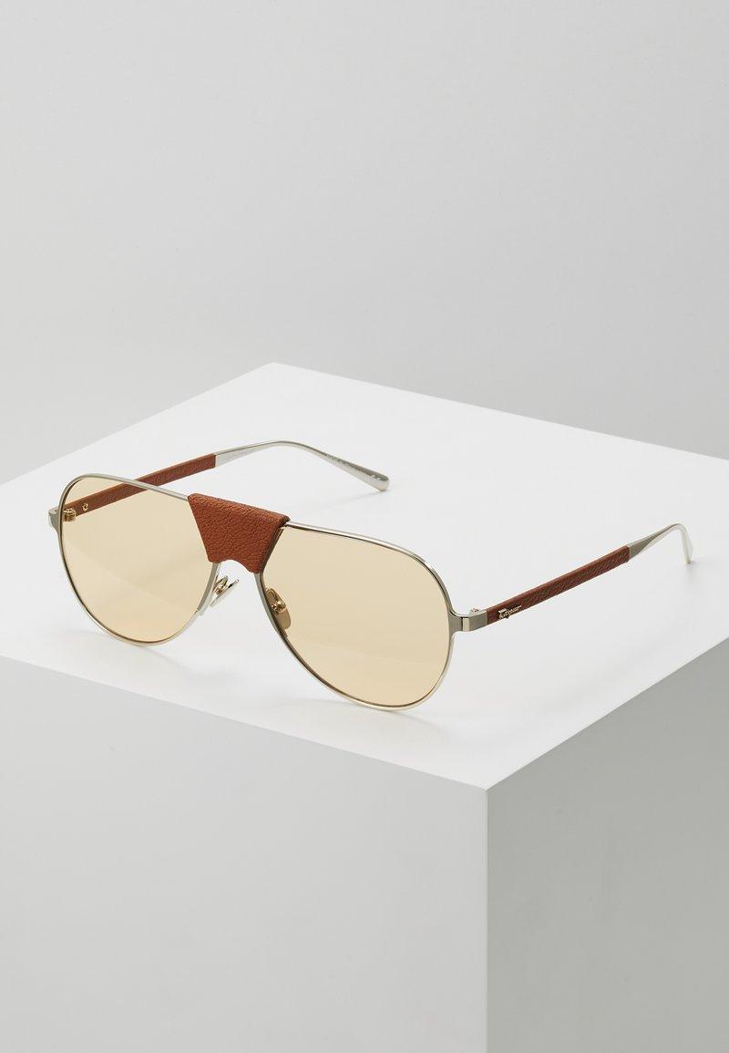 Salvatore Ferragamo - Sluneční brýle - gold-coloured/camel