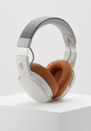 CRUSHER WIRELESS OVER-EAR - Headphones - gray/tan