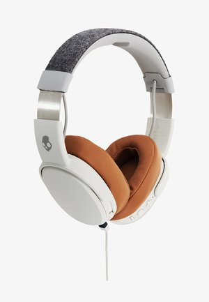 CRUSHER WIRELESS OVER-EAR - Sluchátka - gray/tan
