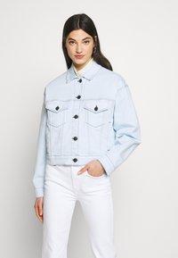 3x1 - OVERSIZED CLASSIC CROP JACKET - Summer jacket - adelia - 0