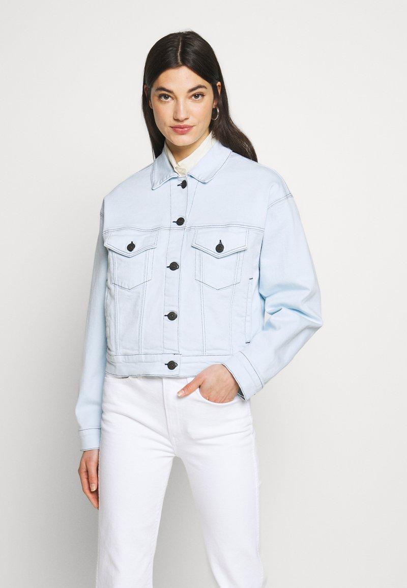 3x1 - OVERSIZED CLASSIC CROP JACKET - Summer jacket - adelia