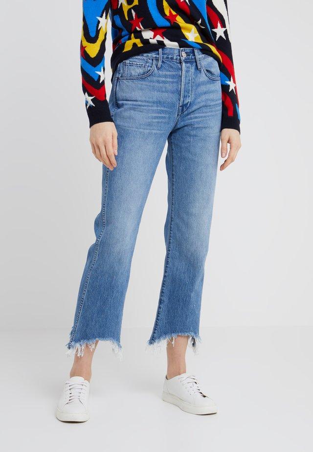 SHELTER AUSTIN - Jeans Straight Leg - byrd