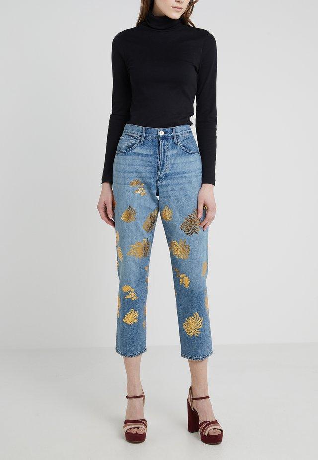 HIGHER GROUND CROP - Jeans Straight Leg - eva