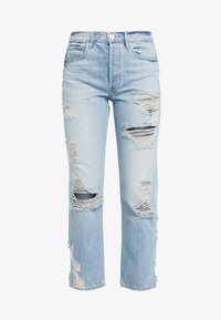3x1 - HIGHER GROUND CROP - Straight leg jeans - marco