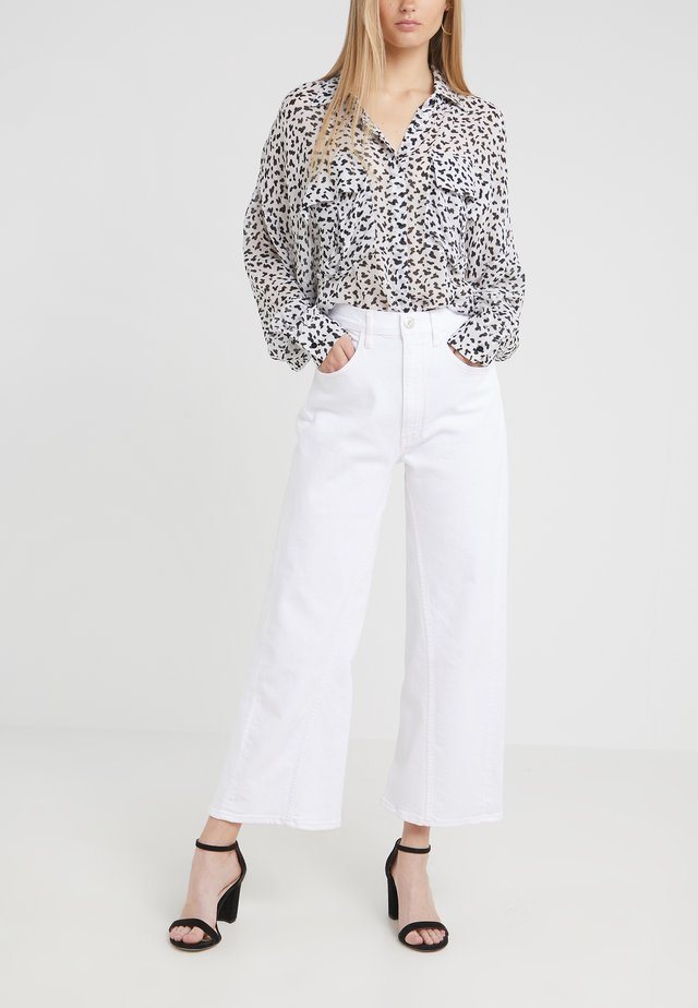 AIMEE - Jeans Relaxed Fit - dutch white