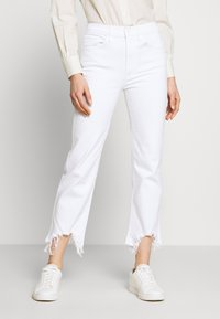 3x1 - AUSTIN CROP - Straight leg jeans - playa - 0