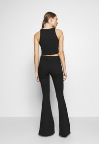 3x1 - MAXIME - Bootcut jeans - black denim - 2