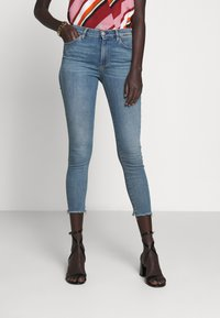 3x1 - MID RISE CROP - Jeans Skinny Fit - carrie - 0