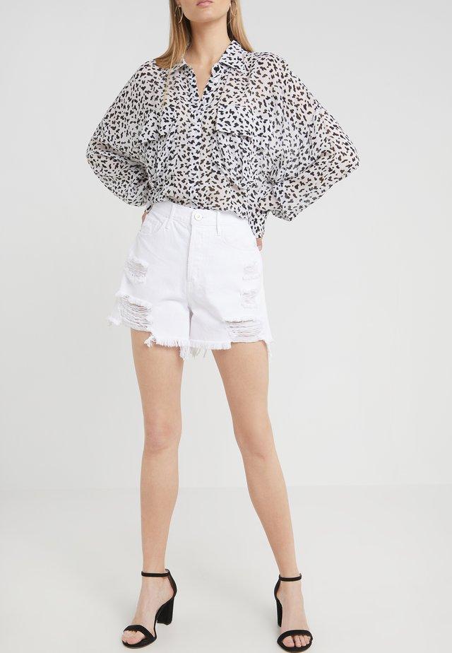 BLAKE - Denim shorts - moonstone