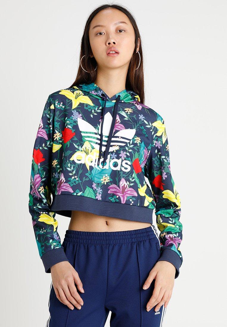 adidas Originals - CROPPED HOODIE - Kapuzenpullover - multicolor