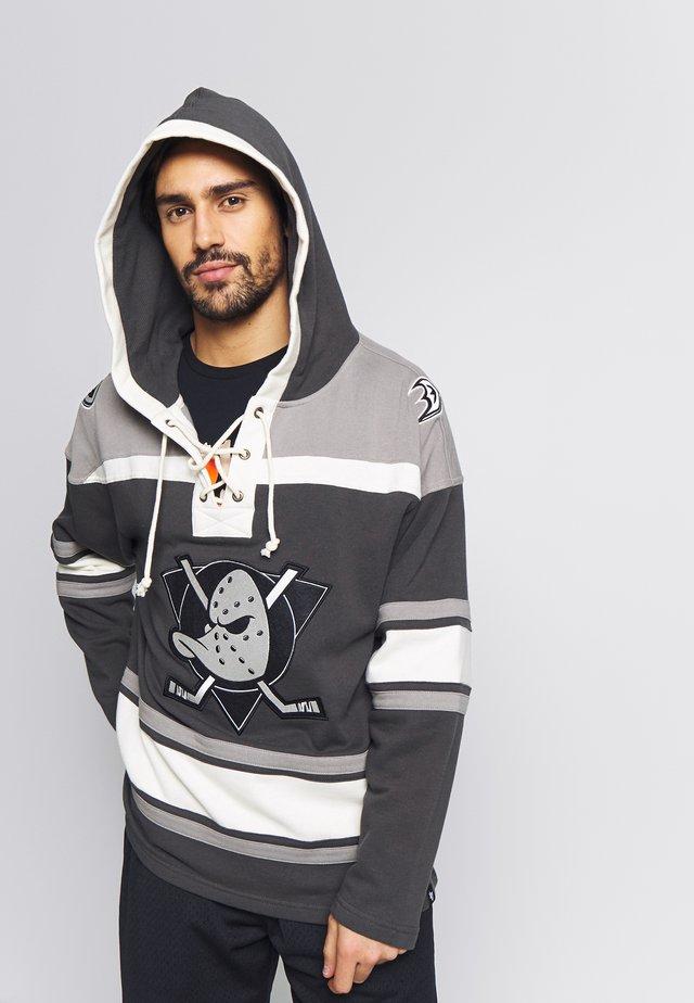 NHL ANAHEIM DUCKS LACER HOOD - Hættetrøjer - black