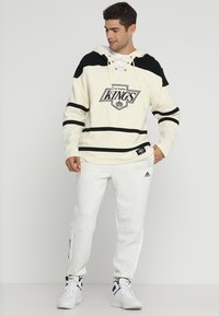 '47 - LOS ANGELES KINGS LACER HOOD - Article de supporter - cream - 1