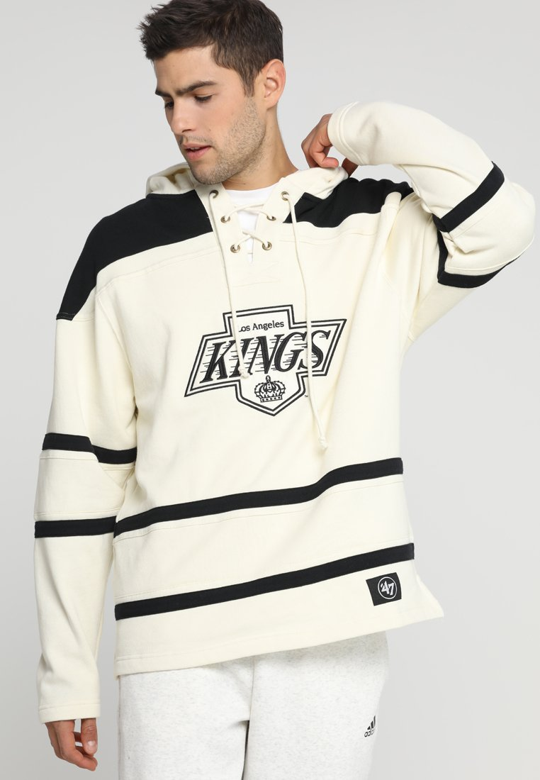'47 - LOS ANGELES KINGS LACER HOOD - Article de supporter - cream