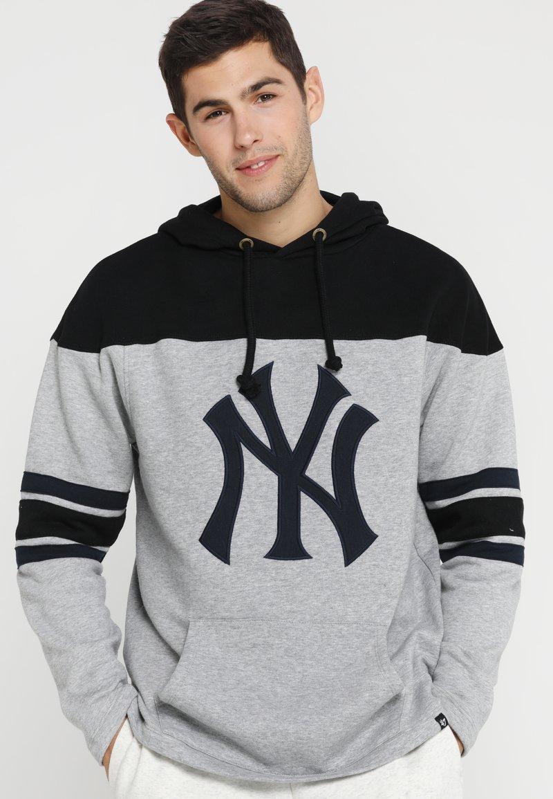 '47 - NEW YORK YANKEES HURON HOOD - Fanartikel - slate grey