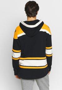 '47 - NHL BOSTON BRUINS LACER '47 HOOD - Sweat à capuche - black - 2