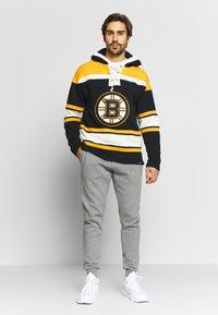 '47 - NHL BOSTON BRUINS LACER '47 HOOD - Sweat à capuche - black - 1
