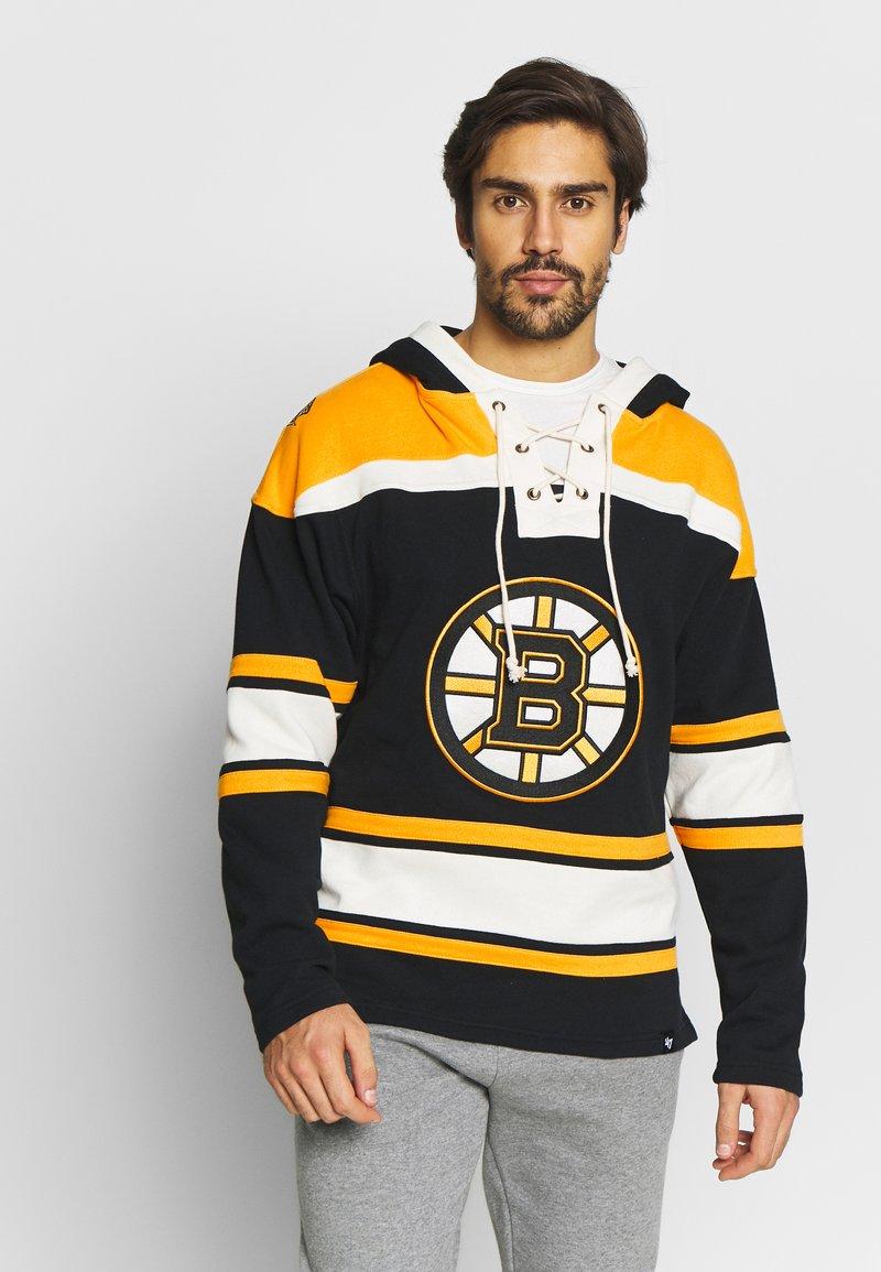 '47 - NHL BOSTON BRUINS LACER '47 HOOD - Sweat à capuche - black