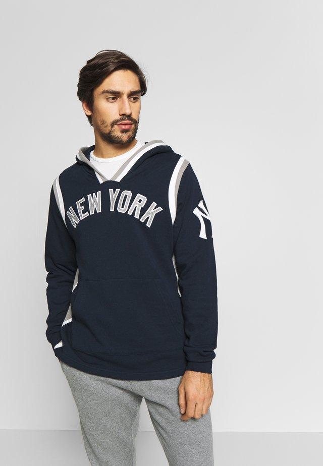 MLB NEW YORK YANKEES LAYUP  - Sweat à capuche - fall navy