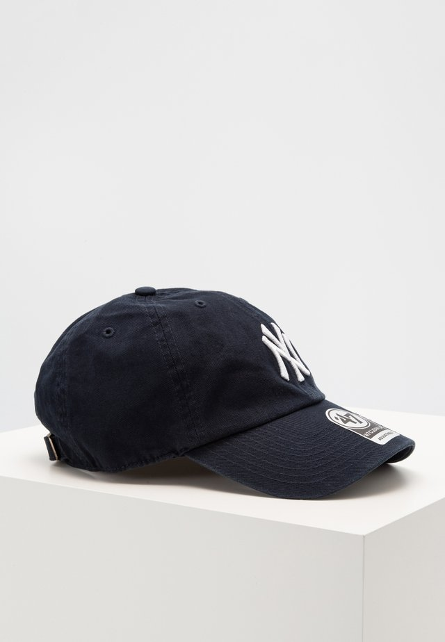 NEW YORK YANKEES CLEAN UP - Keps - navy