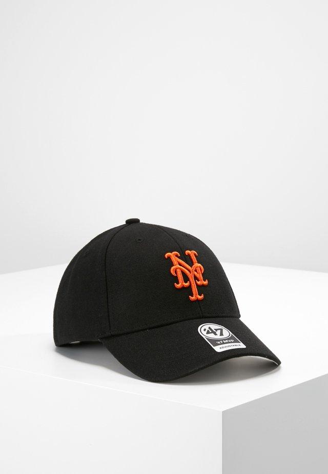 NEW YORK METS - Kšiltovka - black/orange